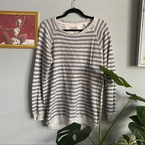 Wilfred Free Pullover Stripped Sweater